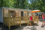 Mobile Home Cosy Plus Airconditioning - 2 kamers 4 personen